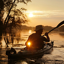 Summer Paddle on he Potomac
