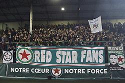 November 17, 2017 - Saint Ouen, France, France - Supporters du Red Star  (Credit Image: © Panoramic via ZUMA Press)