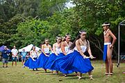 Hula, Kualoa State Park, Kaneohe, Oahu, Hawaii