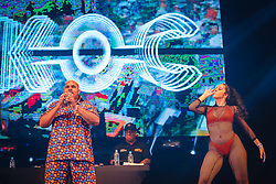 Kevin O Chris e Don Diablo durante a 25ª edição do Planeta Atlântida. O maior festival de música do Sul do Brasil ocorre nos dias 31 Janeiro e 01 de fevereiro, na SABA, praia de Atlântida, no Litoral Norte do Rio Grande do Sul. FOTO: <br /> André feltes/ Agência Preview