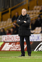CAPTION CORRECTION: Wolverhampton Wanderers Manager Kenny Jackett on the side line at Molineux Stadium - Photo mandatory by-line: Paul Knight/JMP - Mobile: 07966 386802 - 24/02/2015 - SPORT - Football - Wolverhampton - Molineux Stadium - Wolverhampton Wanderers v Fulham - Sky Bet Championship