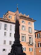 Obeslisk in Piazza Della Rotonda, Rome, Italy.