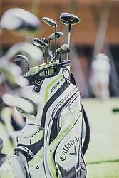 05.06.2019, Golfclub Zillertal, Uderns, AUT, Skijumpers Golf Trophy, im Bild ein Golfbag // a golf bag during the Skijumpers Golf Trophy at the Golfclub Zillertal, Uderns, Austria on 2019/06/05. EXPA Pictures © 2019, PhotoCredit: EXPA/Stefanie Oberhauser