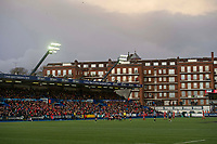 Rugby Union - 2017 / 2018 Guinness Pro14 - Cardiff Blues vs. Scarlets<br /> <br /> view of the ground, with Westgate St flats & West stand in background at Cardiff Arms Park.<br /> <br /> COLORSPORT/WINSTON BYNORTH