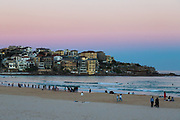 Bondi Beach early evening, Sydney, Australia.