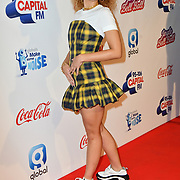Ella Eyre arrives at Capital's Jingle Bell Ball with Coca-Cola at London's O2 Arena on 9th December 2018, London, UK.