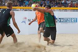 20160724 NED: NK Beachvolleybal 2016, Scheveningen <br />Tom van Steenis<br />©2016-FotoHoogendoorn.nl / Pim Waslander