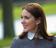 Crown Princess Mary at World Conference Women's Shelters , The Hague 05-11-2015