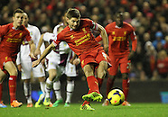 Liverpool v Aston Villa 180114