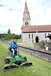 St Marks church Englefield gets its last brush up prior to pippa middleton and james matthews wedding on saturday<br /><br />18 May 2017.<br /><br />Please byline: Vantagenews.com