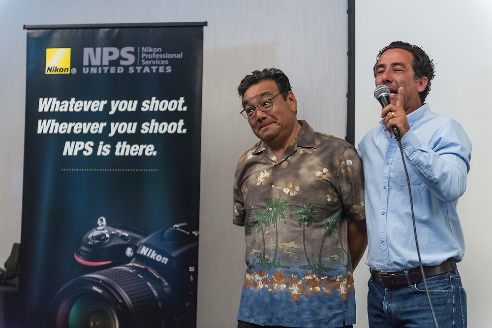 4/29/18:  Behind the scenes with the cast and crew of Sports Shooter Academy 15 in Orange County, California.  The Sports Shooter Academy Workshops are sponsored by Nikon Professional Services (www.nikonpro.com).  ©sportsshooteracademy