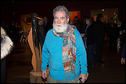 TOM PHILLIPS, Allen Jones private view. Royal Academy,  London. 11 November  2014.