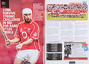 All Ireland Senior Hurling Championship Final,.03.09.2006, 09.03.2006, 3rd September 2006,.Senior Kilkenny 1-16, Cork 1-13,.Minor Tipperary 2-18, Galway 2-7.3092006AISHCF,.Cork, D Óg Cusack, P Mulcahy, D O'Sullivan, B Murphy, J Gardiner, R Curran, S Óg Ó hAilpín, T Kenny, J O'Connor, T McCarthy, N McCarthy, N Ronan, B O'Connor, B Corcoran, J Deane, Subs, K Murphy (Sarsfields) for Ronan, W Sherlock for Mulcahy, C Naughton for T McCarthy, C O'Connor for K Murphy, C Cusack for Kenny, Referee BKelly (Westmeath),.