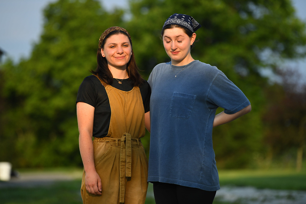 7/6/20 6:53:08 AM  -- Shai Bardin and Carolyn Rogers --    Photo by Jack Gruber