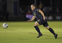 February 20, 2019 - Sheffield, United Kingdom - Kirsty Hanson (manchester United) in action during the  FA Women's Championship football match between Sheffield United Women and Manchester United Women at the Olympic Legacy Stadium, on February 20th Sheffield, England. (Credit Image: © Action Foto Sport/NurPhoto via ZUMA Press)