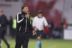 October 22, 2017 - Porto, Aves, Portugal - Aves´s head coach Vidigal during the Premier League 2017/18 match between CD Aves and SL Benfica, at Estadio do Clube Desportivo das Aves in Aves on October 22, 2017. (Credit Image: © Dpi/NurPhoto via ZUMA Press)