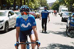 at the 2020 Clasica Feminas De Navarra, a 122.9 km road race starting and finishing in Pamplona, Spain on July 24, 2020. Photo by Sean Robinson/velofocus.com