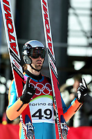 OL 2006 Torino<br />Kombinert hopp<br />11.02.2006 <br />Foto: Sigbjørn Hofsmo, Digitalsport<br /><br />Magnus Moan - Norge