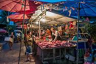 Market in Luang Prabang.