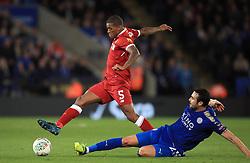 Liverpool's Georginio Wijnaldum during the Carabao Cup, third round match at the King Power Stadium, Leicester.