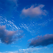 Detail of clouds. Mexico.