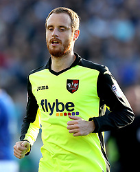 Ryan Harley of Exeter City - Mandatory by-line: Robbie Stephenson/JMP - 14/05/2017 - FOOTBALL - Brunton Park - Carlisle, England - Carlisle United v Exeter City - Sky Bet League Two Play-off Semi-Final 1st Leg