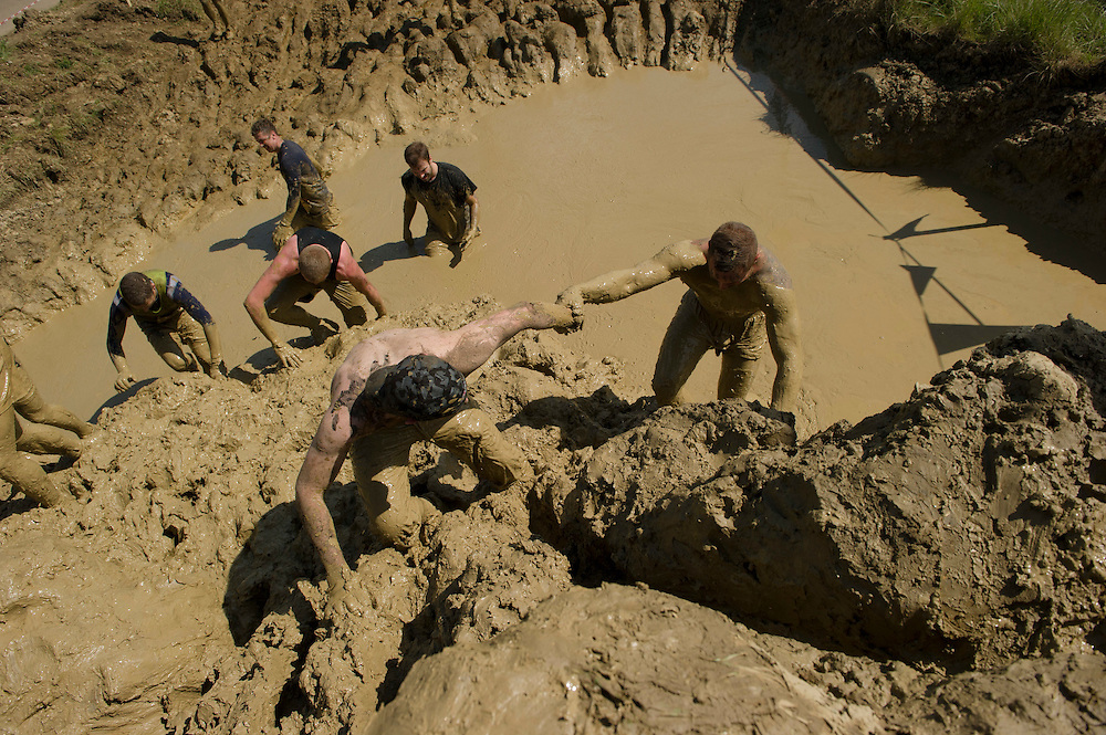 Tough Mudder - May 2012 - Northamptonshire - Mud Mile