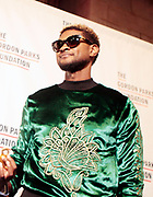 New York, New York- June 6:  Recording Artist/Social Activist Usher attends the 2017 Gordon Parks Foundation Awards Dinner celebrating the Arts & Humanitarianism held at Cipriani 42nd Street on June 6, 2017 in New York City.   (Photo by Terrence Jennings/terrencejennings.com)
