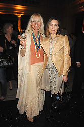 Left to right, VIRGINIA BATES and hr daughter DAISY BATES at a reception to launch Montblanc's First Fine Jewellery Collection held at The Victoria & Albert Museum, Cromwell Road, London SW7 on 24th April 2007.<br /><br />NON EXCLUSIVE - WORLD RIGHTS