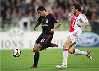 Fotball ,28. september 2004, Champions League,  <br />  FC Bayern München - Ajax Amsterdam<br /> 1:0 Tor  Roy Makaay