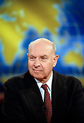 U.S. Undersecretary of State Thomas Pickering discusses the bombing of the Chinese Embassy in Belgrade by NATO  during the Sunday political talk show, Meet the Press, on NBC-TV May 16, 1999 in Washington, DC.