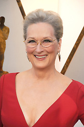 March 4, 2018 - Los Angeles, California, United States - March 4th 2018 - Los Angeles, California  USA - Actress MERYL STREEP   at the  90th Academy Awards held at the Hollywood & Highland Center, Hollywood, Los Angeles. (Credit Image: © Paul Fenton via ZUMA Wire)