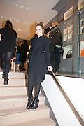 AMBER LE BON, Smythson Sloane St. Store opening. London. 6 February 2012.