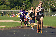 Central Valley, New York - Eventual winner Tom Zarnoch leads at the start of the Woodbury Country Ramble race on Aug. 26, 2012.
