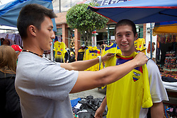 Phong & Alex, Cotacachi City & Market
