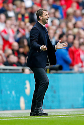 Aston Villa Manager Tim Sherwood - Photo mandatory by-line: Rogan Thomson/JMP - 07966 386802 - 19/04/2015 - SPORT - FOOTBALL - London, England - Wembley Stadium - Aston Villa v Liverpool - FA Cup Semi Final.