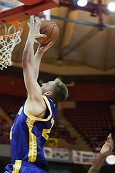 14 October 2006:  Brooks McKowen takes in in for a slam that rocked the whole standard.....In a game that involved both coaches as much as the players, the Northern Iowa Panthers plucked the Illinois State University Redbirds in a Missouri Valley Conference game by a score of 67 - 52. Competition took place at Redbird Arena in Normal Illinois