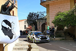April 7, 2018 - Corse, France - CORSICA Linea - TOUR DE CORSE 2018 Bryan BOUFFIER, Xavier PANSERI FORD FIESTA WRC (Credit Image: © Panoramic via ZUMA Press)