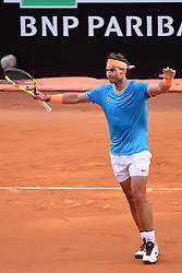 May 19, 2019 - Roma, Italia - Foto Alfredo Falcone - LaPresse.19/05/2019 Roma ( Italia).Sport Tennis.Rafael Nadal (esp) vs Novak Djokovic (srb).Internazionali BNL d'Italia 2019 .Nella foto:rafael Nadal..Photo Alfredo Falcone - LaPresse.19/05/2019 Roma (Italy).Sport Tennis.Rafael Nadal (esp) vs Novak Djokovic (srb).Internazionali BNL d'Italia 2019.In the pic:rafael Nadal (Credit Image: © Alfredo Falcone/Lapresse via ZUMA Press)