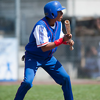 Baseball - 2009 European Championship Juniors (under 18 years old) - Bonn (Germany) - 04/08/2009 - Day 2 - Andy Paz (France)