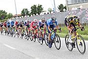 Foto   Fabio Ferrari/LaPresse<br /> 22 maggio 2021 Italia<br /> Sport Ciclismo<br /> Giro d'Italia 2021 - edizione 104 - Tappa 14 - Da Cittadella a Monte Zoncolan (km 205)<br /> Nella foto: ciclisti durante la gara<br /> Photo   Fabio Ferrari/LaPresse<br /> May 22, 2021  Italy  <br /> Sport Cycling<br /> Giro d'Italia 2021 - 104th edition - Stage 14 - from Cittadella to Monte Zoncolan <br /> In the pic: during the race.