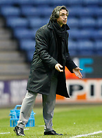 Photo: Steve Bond/Richard Lane Photography. Leicester City v Swansea City. FA Cup Third Round. 02/01/2010. Paulo Sousa on the touchline