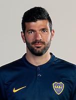Argentina League - Primera Division 2015 / <br /> Club Atletico Boca Juniors - Argentina - <br /> Emmanuel Gigliotti