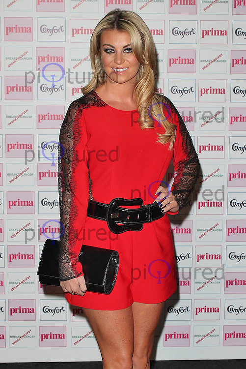 LONDON - September 13: Billi Mucklow at The Comfort Prima High Street Fashion Awards 2012 (Photo by Brett D. Cove)