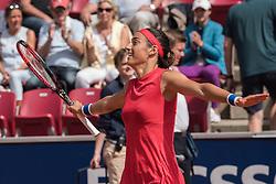 Caroline Garcia (France) at the 2017 WTA Ericsson Open in Båstad, Sweden, July 28, 2017. Photo Credit: Katja Boll/EVENTMEDIA.