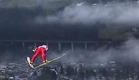 Hopp<br /> FIS World Cup<br /> 05.01.2014<br /> Innsbruck Østerrike<br /> Foto: Gepa/Digitalsport<br /> NORWAY ONLY<br /> <br /> FIS Weltcup der Herren, Vierschanzen-Tournee, Training und Qualifikation. Bild zeigt Tom Hilde (NOR).