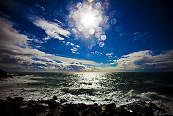 Portpatrick sea..