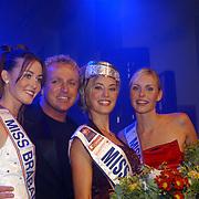 Verkiezing Miss Nederland 2003, Femke Frederiks, Gordon, Sanne de Regt, Nathalie Hassink