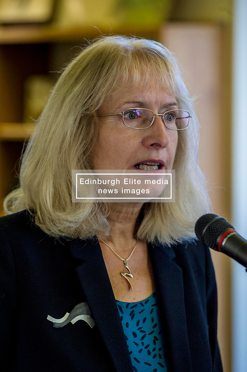 Pictured: Dr Kirsty Hughes<br /> Scottish launch of the campaign for people across the UK to have the final say on Brexit in a 'People's Vote'. Moderated by the incoming chair of the Chair of the European Movement in Scotland, Mark Lazaowicz, speakers included Dr Kirsty Hughes, director of the Scottish Centre on European Relations; Georgie Harris, Vice President Community of the University of Edinburgh Studenst Association and John Edward, former head of the European Parliament Office in Scotland. <br /> <br /> Ger Harley   EEm Date