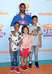 attends the Nickelodeon's 2017 Kids' Choice Awards at USC Galen Center on March 11, 2017 in Los Angeles, California. Photo by Lionel Hahn/ABACAUSA.COM